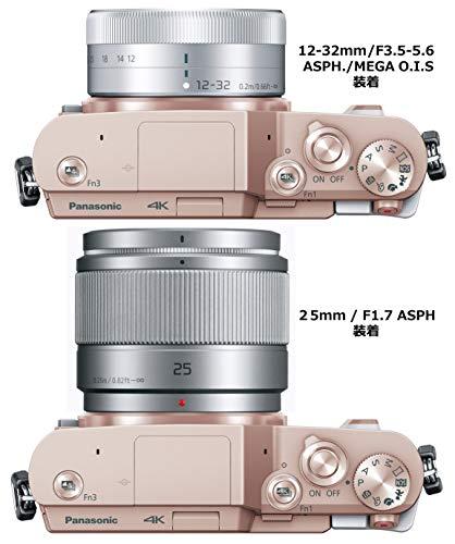 パナソニックミラーレス一眼カメラルミックスGF10ダブルレンズキット標準ズームレンズ/単焦点レンズ付属ホワイトDC-GF10W-W