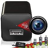 Spy Camera Charger - Hidden Camera - Mini Spy Camera 1080p - USB Charger Camera - Hidden Spy Camera - Hidden Nanny Cam - Hidden Spy Cam - Hidden Cam - Surveillance Camera FULL HD - No Wi-Fi Needed