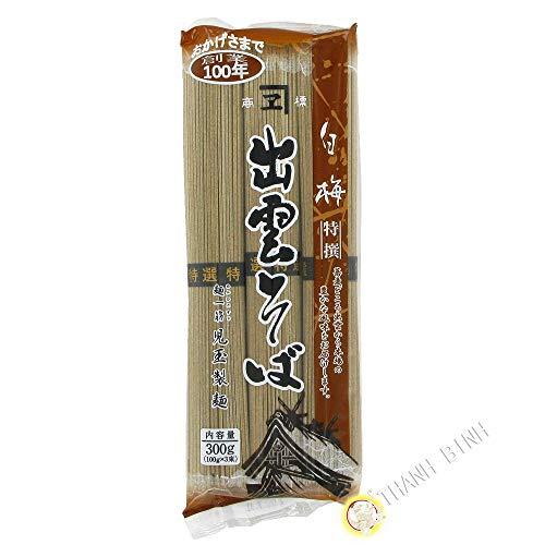 La pasta de trigo sarraceno soba KODAMA 300g Japón - Pack de 3 uds