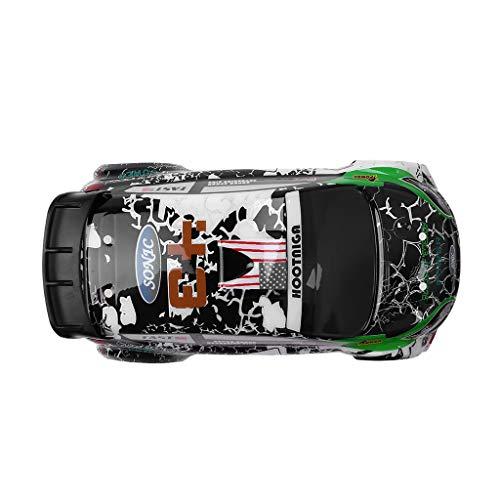 CHshe®-🍒-Cubierta Del Automóvil, Accesorios Para El Modelo Del Automóvil, Pieza de Repuesto de La Cubierta Del Automóvil K989-55 Para El Vehículo Todoterreno Rc K989 1/28 de Wltoys