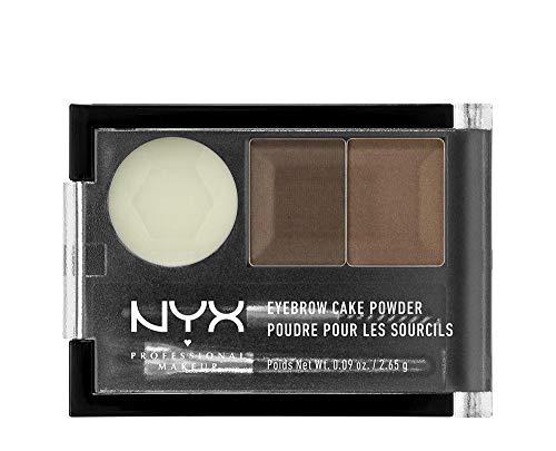 NYX Professional Make-up-Puder, für Augenbrauen, Braun