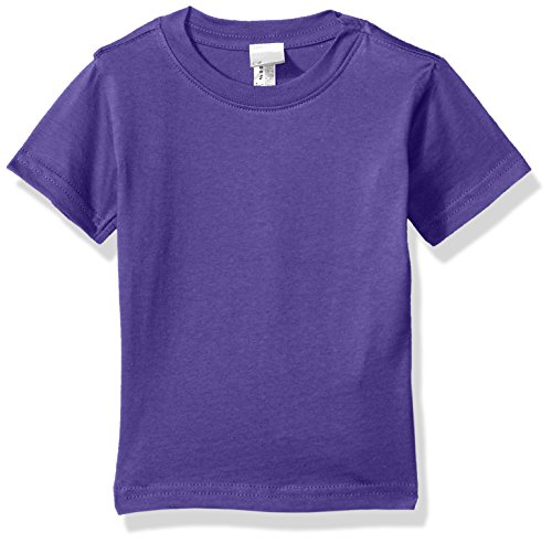 Clementine Baby Infant Fine Durable Jersey T-Shirt, Purple, 12MOS