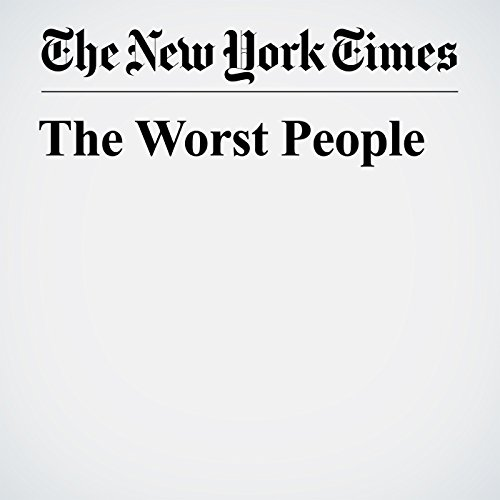 The Worst People copertina