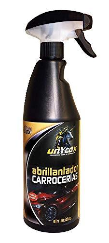 Unycox UNYCQ Abrillantador de Carrocerías Gama Deluxe, Bote Negro, 750 ml