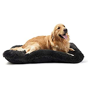 ANWA Dog Bed Medium Dogs, Washable Dog Bed Crate Pad for Cage Kennel, Dog Bed Crate Mat 30″