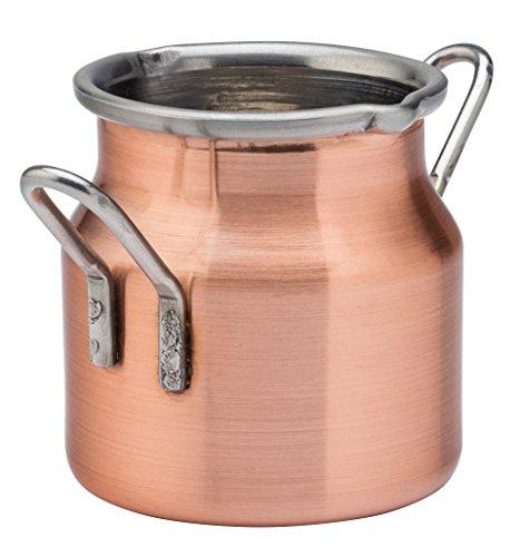 UTOPIA Kupfer Präsentation, f17013, Kupfer Milchkanne 71(7cl) (6er Box)