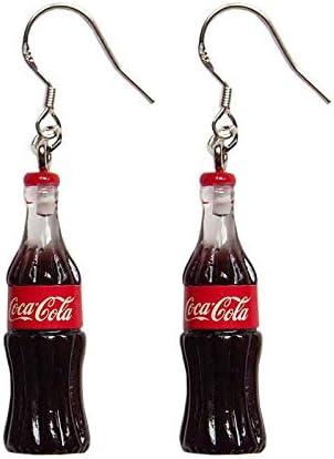 TIANHONGYAN Lightweight Creative Coke Bottle Dangle Drop Earrings Lovely personality Simplicity Beverage bottle Earrings for Women Girls Charm Jewelry Gift