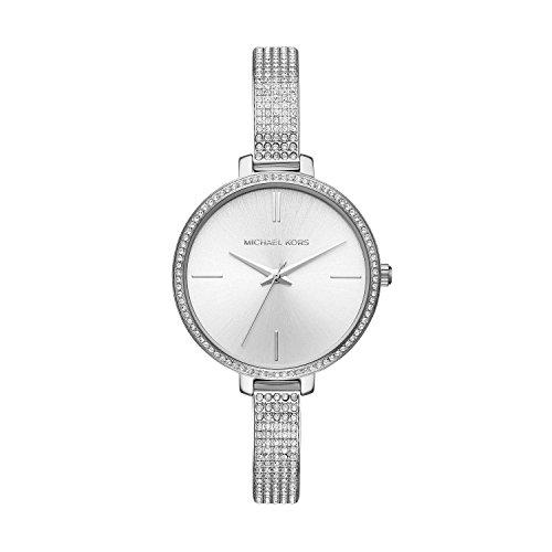 Michael Kors Damen Analog Quarz Uhr mit Edelstahl Armband MK3783