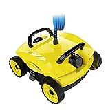 DGDF Limpiador de Piscinas robóticas para Piscinas en Tierra y pequeñas en Tierra