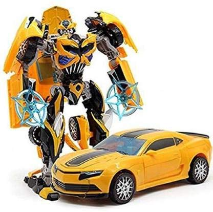 Battery Operated converting car to Robot, Robot to car Automatically,Transform...