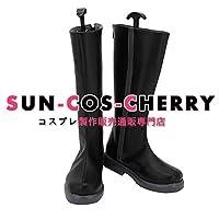 【サイズ選択可】コスプレ靴 ブーツ K-2800 僕のヒーローアカデミア ヒーローコスチューム イレイザー・ヘッド 相澤消太 男性25CM