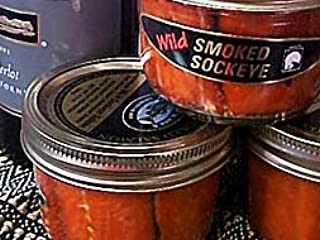 7 Ounce Smoked Sockeye Jar