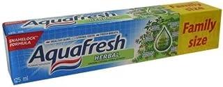 アクアフレッシュ ハーブ歯磨き粉 125ml*6個入 [並行輸入品]