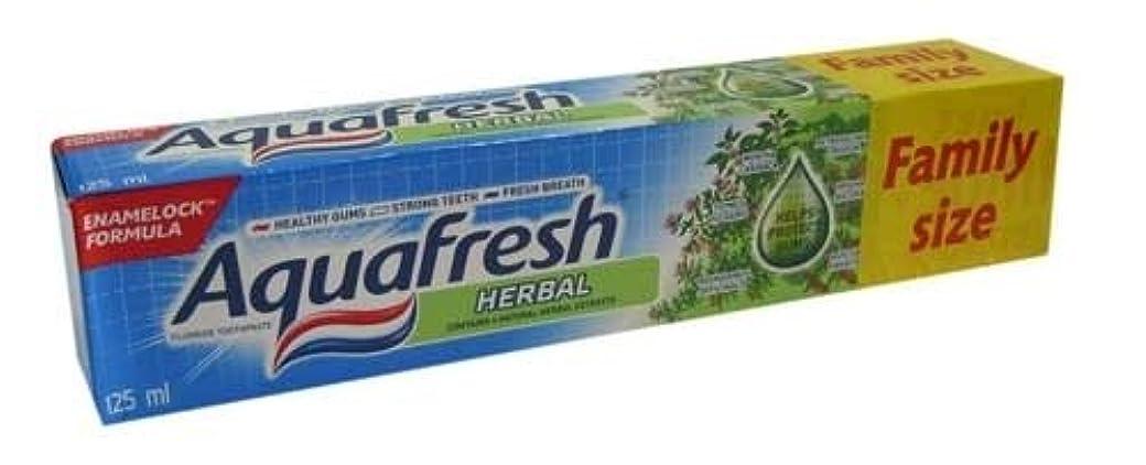 極地歩道モックアクアフレッシュ ハーブ歯磨き粉 125ml*6個入 [並行輸入品]