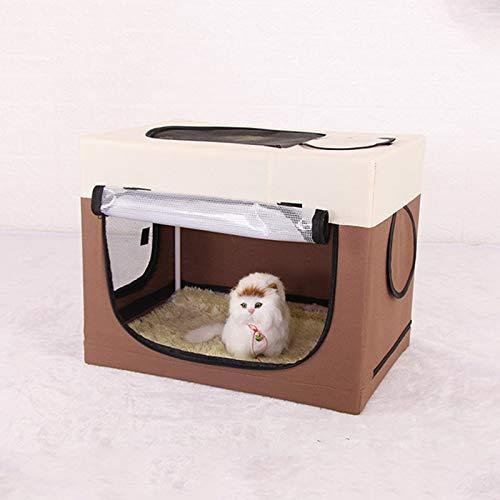 Caja de secado de ducha para mascotas, caja de salida para gatos y perros, tienda de campaña portátil para mascotas, secado rápido de pelo de mascotas (gris)