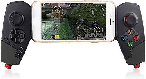 Manette jeu à distance manette 2.4G Ios / Android / PC, Manette commansans fil pour manette jeu Gamepad, Rechargeable pour manette jeu Bluetooth, Clavier commanà double vibration pour smartphone, n