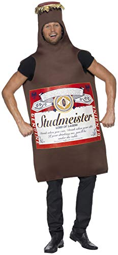 SMIFFYS Costume Bottiglia di Birra Studmeister, The Lord of Lagers