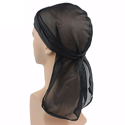 Boyfriend Cardig 5pcs Unisexe Homme Femme Foulard Turban Bonnet Chapeau Musulman Hijab Chimio Chemo Casquette Coiffure en Polyester Cancer Coiffe Headscarf