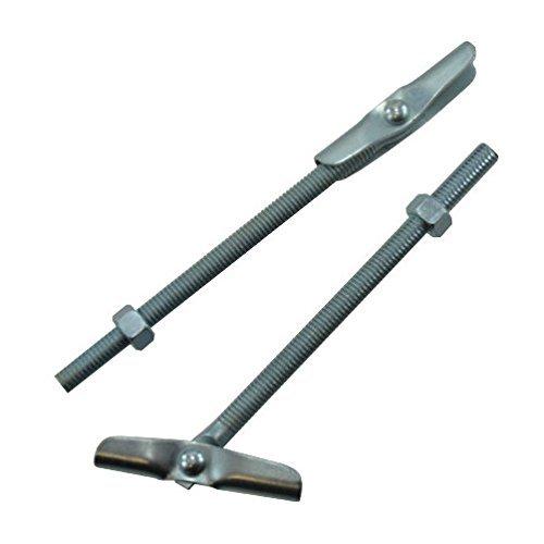1/4'-20 X 4' Zinc Plated Tumble Toggle Bolt w/Hex Nut (Quantity of 1)