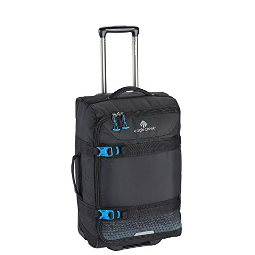 eagle creek Unisex-Adult Expanse Wheeled Duffel Carry On Rolling, Black, One size