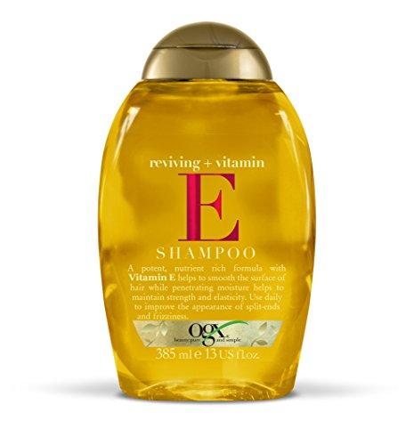 OGX Healing Vitamin E Shampoo Pack of 3 x 385 ml