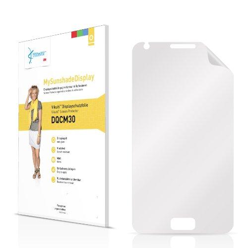 Vikuiti Displayschutzfolie Matt DQCM30 von 3M für Star N8000 3G 2012 Folie Schutzfolie Displayfolie - Entspiegelt