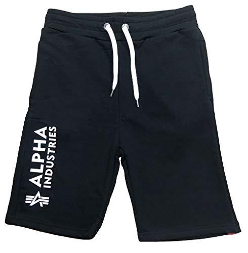 Alpha Industries Herren Short Basic Short Al Black 3XL