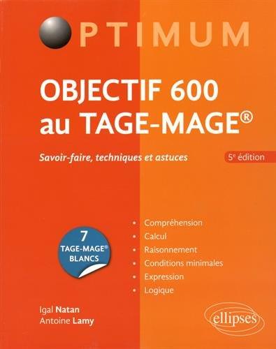Objectif 600 au Tage-Mage Édition 2016