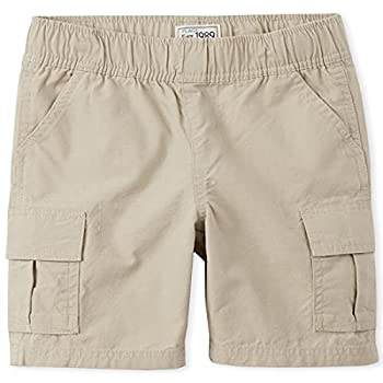The Children s Place boys Pull On Cargo Shorts Sand Wash 8