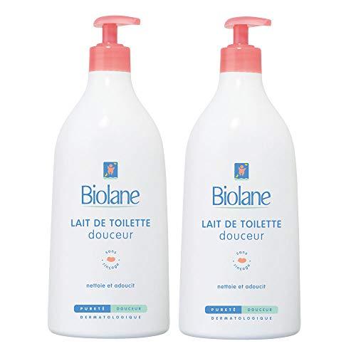 Biolane Lait de Toilette Douceur 750 ml - Lot de 2