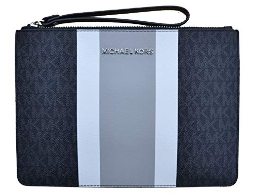 Michael Kors Clutch Tasche Jet Set Travel XL Zip Clutch Cuero Negro Multi