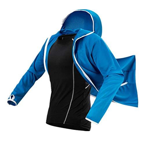 CHANGL Antifouling Schnelltrocknende Winddichte Jacke Strickjacke Cardigan Sportswear Workout Outdoor Angeljacke