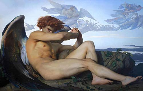 Alexandre Cabanel Fallen Angel 1847 Musee Fabre 24 x 15 Fine Art Giclee Canvas Print Unframed product image