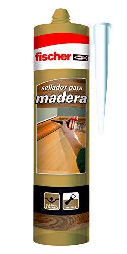 fischer – sellador de juntas Especial Madera Roble (tubo d