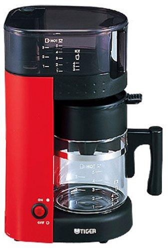 タイガー コーヒーメーカー アーバンレッド 5杯用 ACK-A050-RU