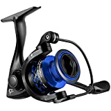 Piscifun Flame Spinning Reels Light Weight Ultra Smooth Powerful SpinningFishing Reels Red & Blue
