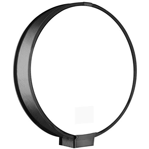 Neewer tragbarer Round Diffuser SoftBox Mini 30cm Auf-Kamera Blitz Diffusor für Blitzgeräte für Nikon-Blitzgerät, Canon Speedlite, Vivita Flash...