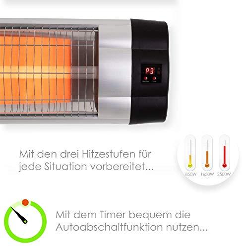 Kesser® Infrarotstrahler Heizstrahler Wärmestrahler Terrassenstrahler Temperatur Bild 5*