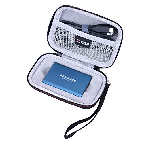 LTGEM Case for Samsung T5/T3/T1 Portable 250GB 500GB 1TB 2TB SSD USB 3.1 External Solid State Drives