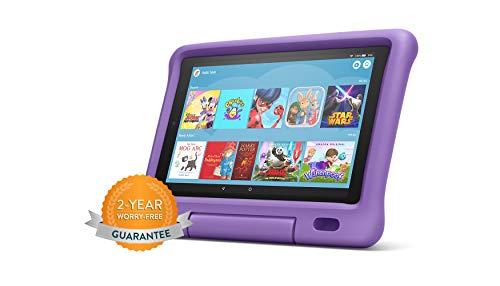 Fire HD 10 Kids Edition Tablet | 10.1' 1080p Full HD Display, 32 GB, Purple Kid-Proof Case