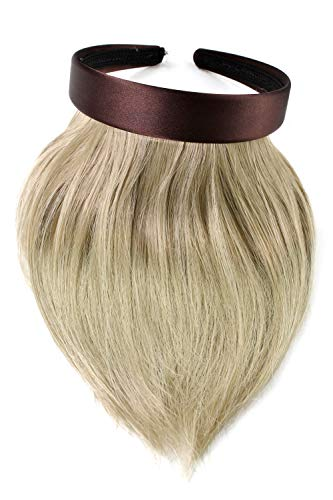 Frange à clipper avec serre-tête pour un effet naturel, Blonde (22) HA073T-22