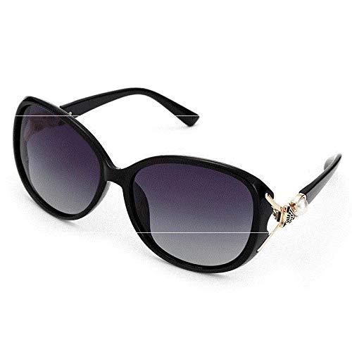 Women's Glasses Polarized Women's Round Face Fashion Big Face New Anti Ultraviolet Sunglasses Fashion Elegant Sun