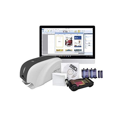 IDP Kit Impresora Tarjetas PVC/Doble Cara/Incluye: 2 x Ribbon, 100 Tarjetas PVC, Software, Kit...