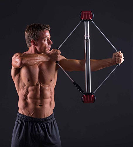 Bullworker Power Pair Bow Classic Steel Bow and ISO-Bow Isometric Exercise Equipment for Total Body Fitness and Functional Fitness