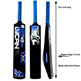 Lycan Beast Bigger Edge 2.5 Inch Full Size Hard PVC/Plastic Cricket Bat