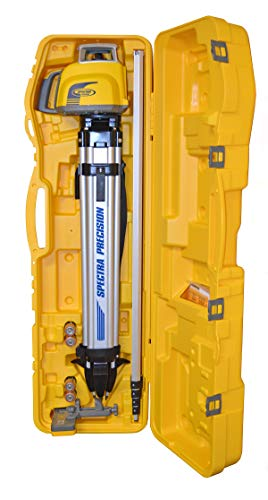 Spectra Precision LL300N-1 Laser Level, Self Leveling Kit with HL450 Receiver, Clamp, 15' Grade Rod / 10ths and Tripod