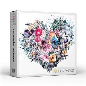 Diamond Painting Strass Special - XL Forever Love - runde Steine - Vollbild