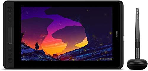 Mesas Digitalizadoras gráfico HUION KAMVAS Pro 12 GT-116 Caneta Exibição Função de inclinação 8192 Caneta Caneta de pressão sem bateria, tela totalmente laminada, 120% sRGB