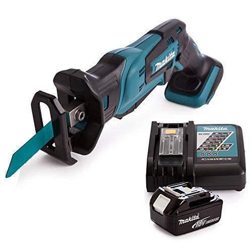 Makita DJR185Z 18V Mini Reciprocating Saw with 1 x 5Ah Battery & Charger