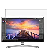 Puccy 2 Pack Anti Blue Light Screen Protector Film, compatible with LG 27MU88-W-VS Monitor 27' TPU Guard ( Not Tempered Glass Protectors )